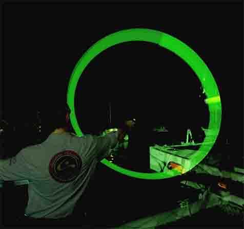 Cyalume Green Sos Leuchtfeuer