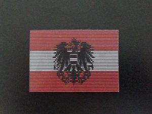Österreichische Flagge Doppel-IR