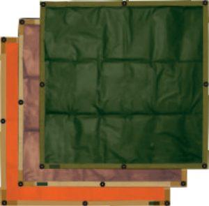 Wärmekennzeichnungstafel für Fahrzeugtanks 100 x 100 cm