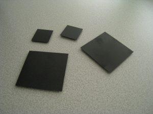 kleines quadratisches Infrarotfeld mit Klettverschluss